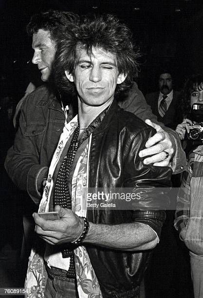 Keith Richards of the Rolling Stones and son Marlon