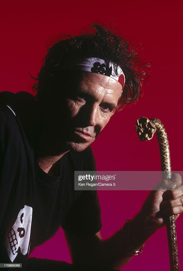 Keith Richards, Ken Regan Archive, Portraits 1990's