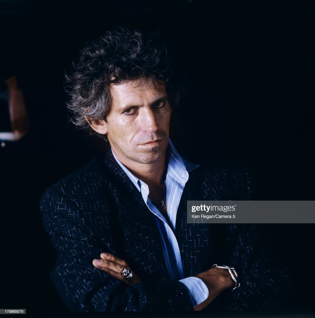 Keith Richards, Ken Regan Archive, Portraits 1990's