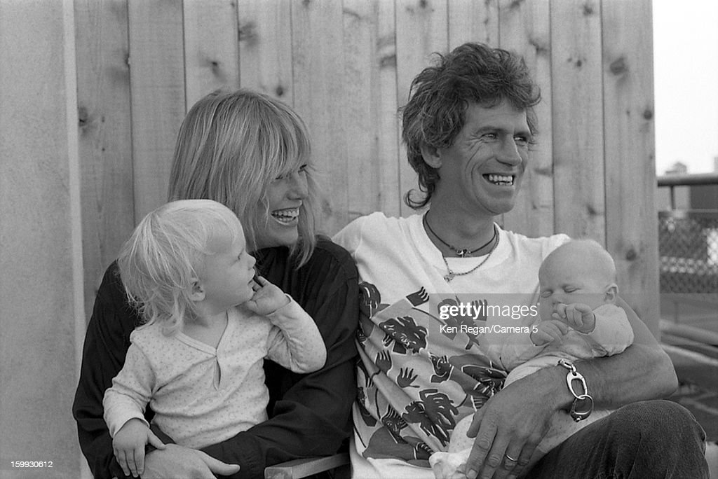 Keith Richards Family, Ken Regan Archive, 1985-1986