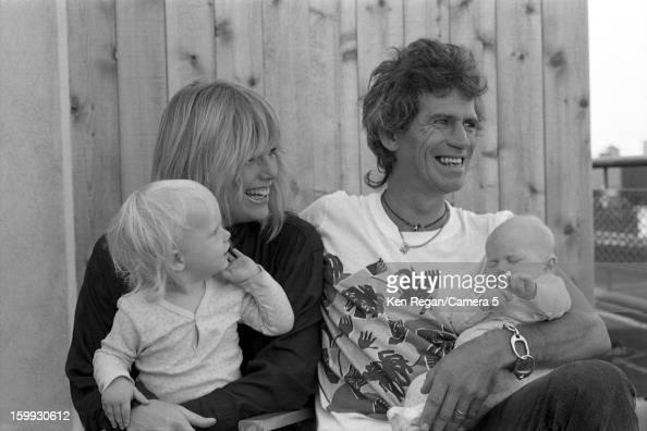 Patti Hansen Foto e immagini stock | Getty Images Keith Richards Family