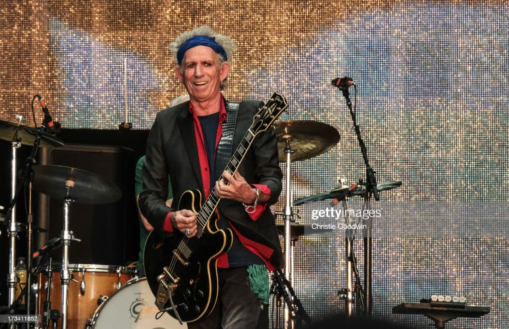 <a gi-track='captionPersonalityLinkClicked' href=/galleries/search?phrase=Keith+Richards+-+Musician&family=editorial&specificpeople=202882 ng-click='$event.stopPropagation()'>Keith Richards</a> of The Rolling Stones performs on stage at British Summer Time Festival at Hyde Park on July 13, 2013 in London, England.