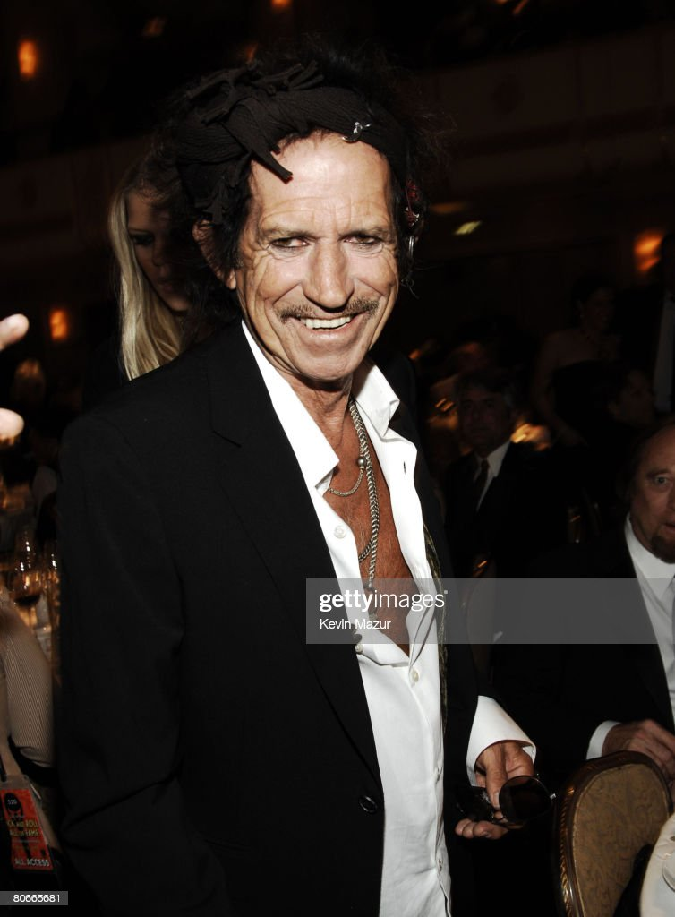 Keith Richards, presenter *EXCLUSIVE*
