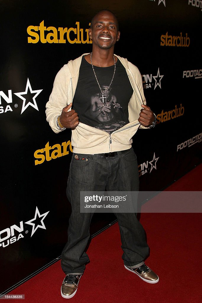 Keith Robinson attends the J. Cole Performs At Footaction's 'Own The Stage' Celebration at W Hollywood on October 19, 2012 in Hollywood, California.
