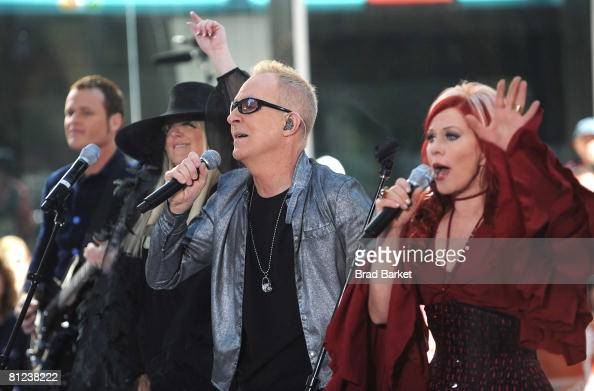 """Cynthia Schneider: The B-52's Perform On NBC's """"Today"""" Show Photos And Images"""