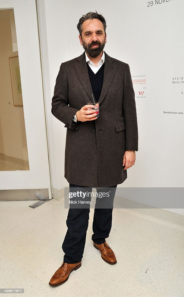 Keith Tyson attends 'The Artists' Colouring Book of ABCs' Launch event at The Serpentine Gallery on December 12, 2013 in London, England.