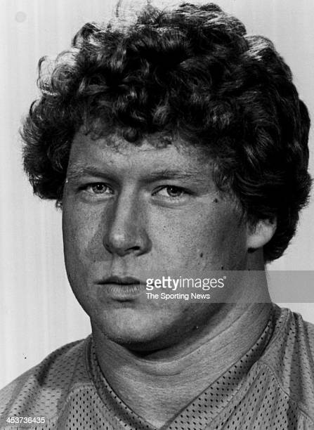 Keith Uecker of the Denver Broncos circa 1983 in Denver Colorado