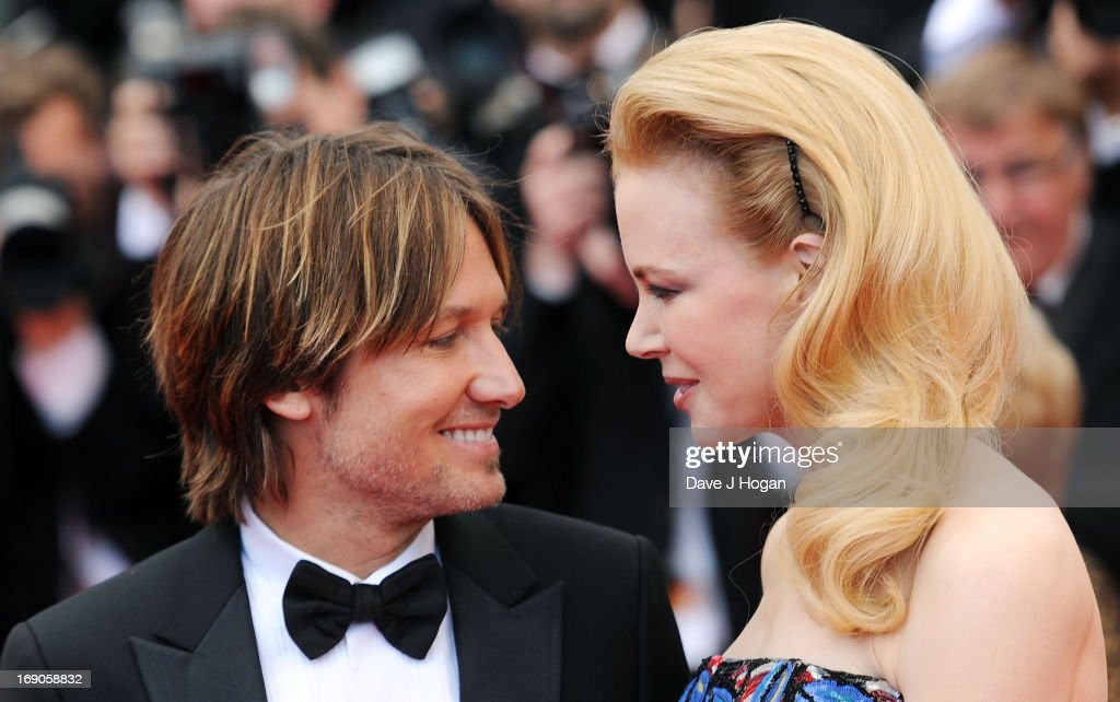 Keith Urban and jury member Nicole Kidman attend the 'Inside Llewyn Davis' Premiere during the 66th Annual Cannes Film Festival at Grand Theatre Lumiere on May 19, 2013 in Cannes, France.