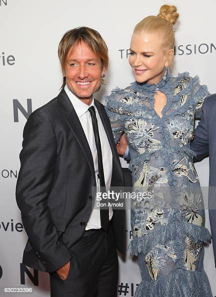Keith Urban and Nicole Kidman arrive ahead of the Australian premiere of LION at State Theatre on December 19 2016 in Sydney Australia