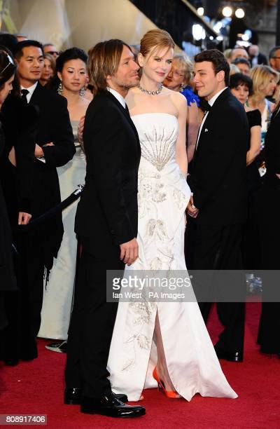 Keith Urban and Nicole Kidman arriving for the 83rd Academy Awards at the Kodak Theatre Los Angeles