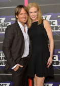 Keith Urban and Nicole Kidman attend the 2013 CMT Music awards at the Bridgestone Arena on June 5 2013 in Nashville Tennessee
