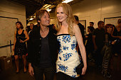 Keith Urban and Nicole Kidman attend the 2014 CMT Music Awards at Bridgestone Arena on June 4 2014 in Nashville Tennessee