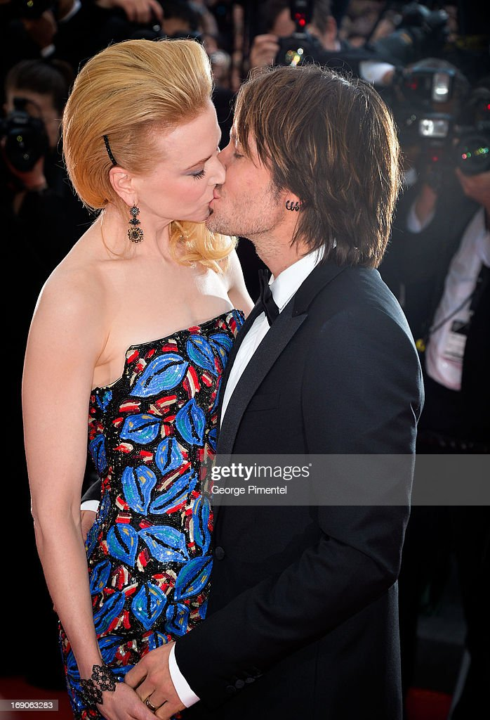 Keith Urban and Nicole Kidman attend the 'Inside Llewyn Davis' Premiere during the 66th Annual Cannes Film Festival at Grand Theatre Lumiere on May 19, 2013 in Cannes, France.