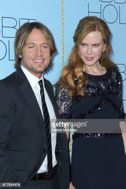 Keith Urban and Nicole Kidman attend The New York Premiere of RABBIT HOLE at The Paris Theatre on December 2 2010 in New York City
