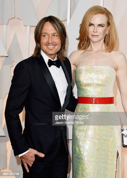 Keith Urban and Nicole Kidman attends the 87th Annual Academy Awards at Hollywood Highland Center on February 22 2015 in Hollywood California