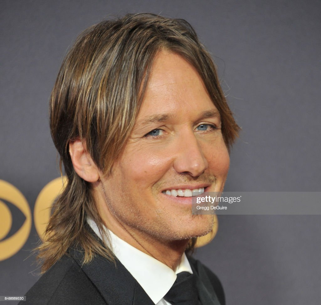 Keith Urban arrives at the 69th Annual Primetime Emmy Awards at Microsoft Theater on September 17, 2017 in Los Angeles, California.