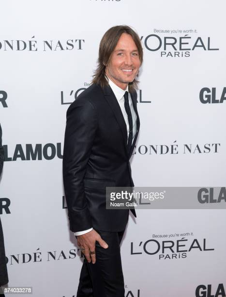 Keith Urban attends the 2017 Glamour Women of The Year Awards at Kings Theatre on November 13 2017 in New York City