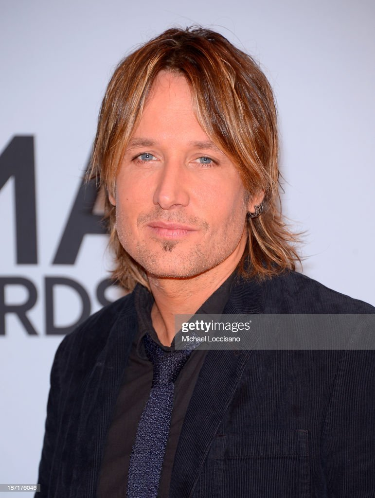 Keith Urban attends the 47th annual CMA Awards at the Bridgestone Arena on November 6, 2013 in Nashville, Tennessee.