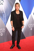 Keith Urban attends the 49th annual CMA Awards at the Bridgestone Arena on November 4 2015 in Nashville Tennessee