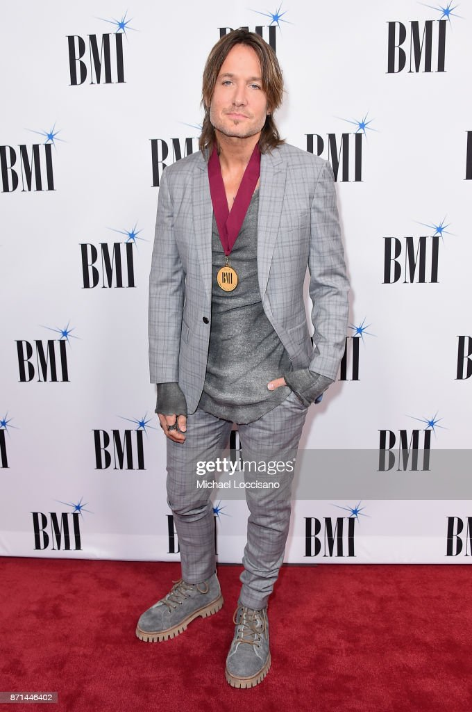 Keith Urban attends the 65th Annual BMI Country awards on November 7, 2017 in Nashville, Tennessee.