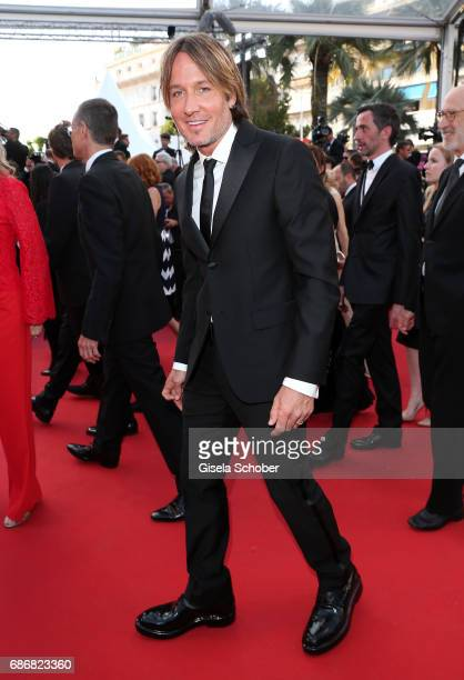 Keith Urban attends the 'The Killing Of A Sacred Deer' screening during the 70th annual Cannes Film Festival at Palais des Festivals on May 22 2017...
