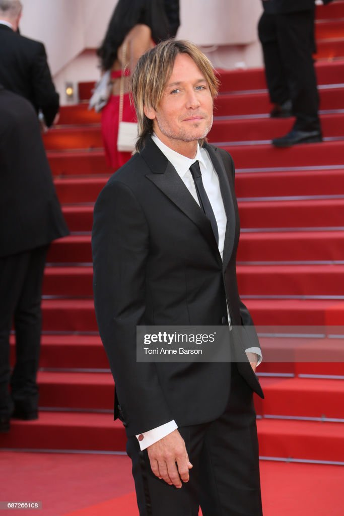 Keith Urban attends the 'The Killing Of A Sacred Deer' screening during the 70th annual Cannes Film Festival at Palais des Festivals on May 22, 2017 in Cannes, France.