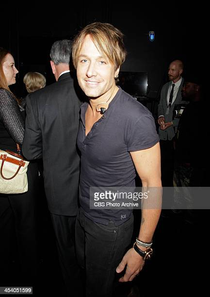 Keith Urban backstage during the THE GRAMMY NOMINATIONS CONCERT LIVE Ñ COUNTDOWN TO MUSIC'S BIGGEST NIGHT¨ broadcast Friday Dec 6 on the CBS...