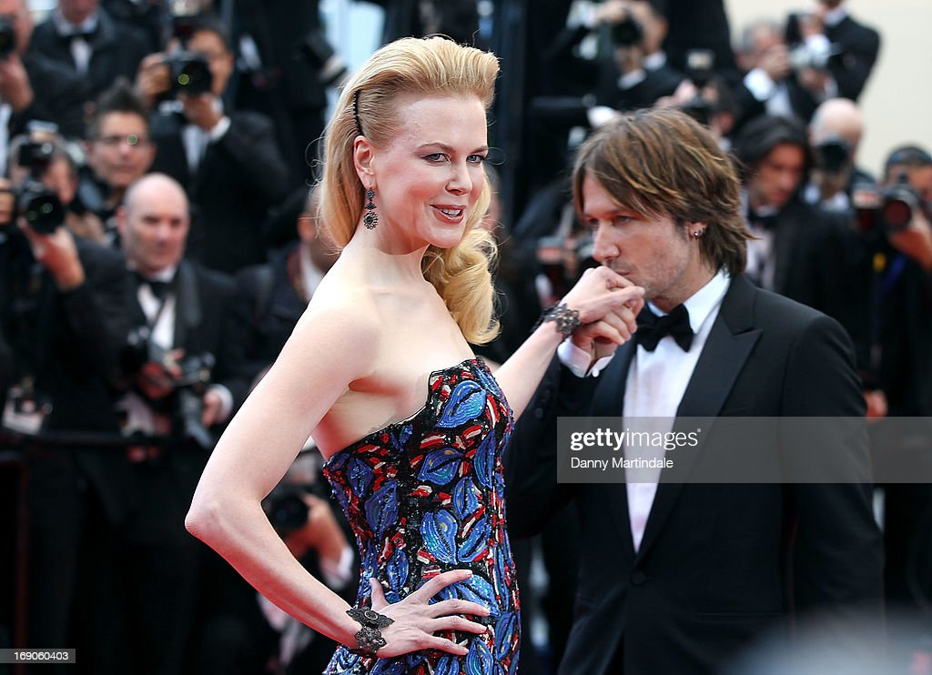 Keith Urban kisses Jury member Nicole Kidman hand at the Premiere of 'Inside Llewyn Davis' at The 66th Annual Cannes Film Festival on May 19, 2013 in Cannes, France.