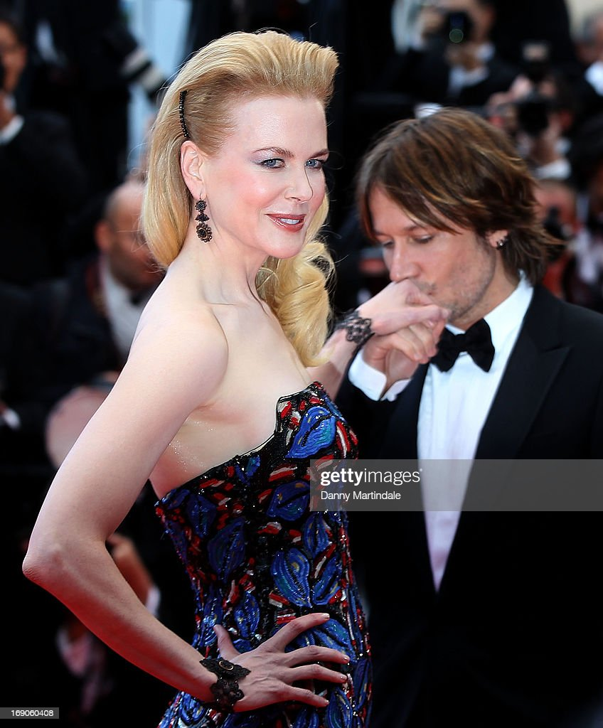 Keith Urban kisses Jury member Nicole Kidman's hand at the Premiere of 'Inside Llewyn Davis' at The 66th Annual Cannes Film Festival on May 19, 2013 in Cannes, France.