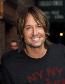 Keith Urban leaves the 'Late Show with David Letterman' at Ed Sullivan Theater on September 11 2013 in New York City