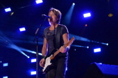 Keith Urban performs at the 2014 CMA Festival on June 7 2014 in Nashville Tennessee