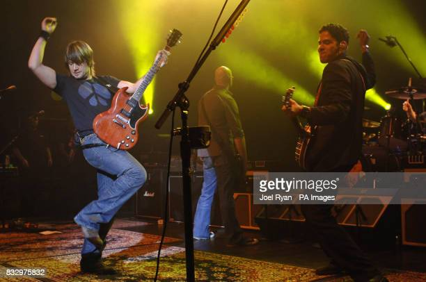 Keith Urban performs in concert at the Shepherds Bush Empire in west London