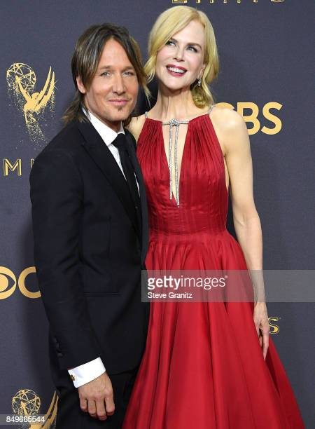 Keith UrbanNicole Kidman arrives at the 69th Annual Primetime Emmy Awards at Microsoft Theater on September 17 2017 in Los Angeles California