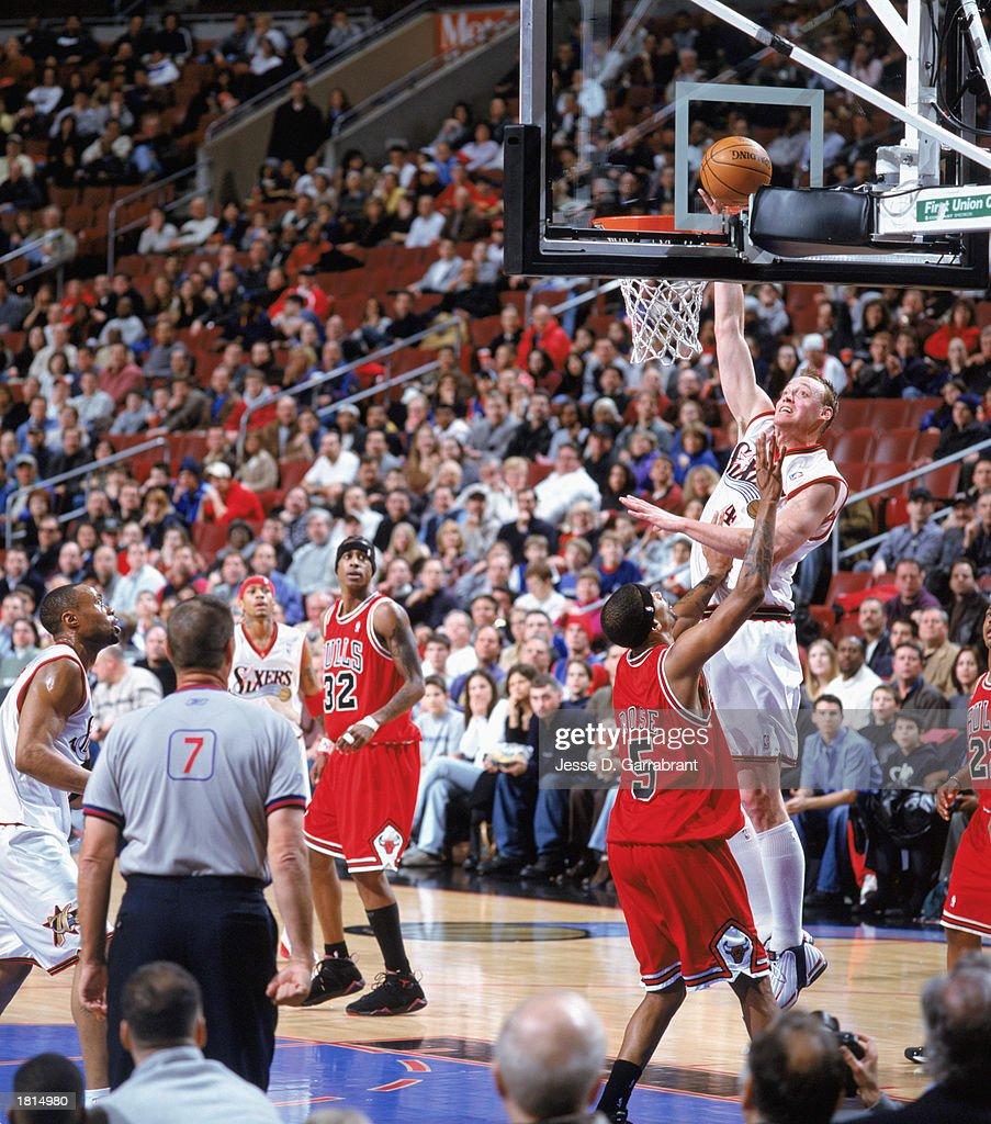 Chicago Bulls v Philadelphia 76ers s and