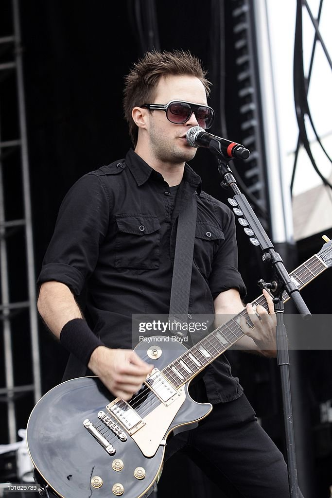 Keith Wallen of Adelitas Way performs at Columbus Crew Stadium in Columbus, Ohio on MAY