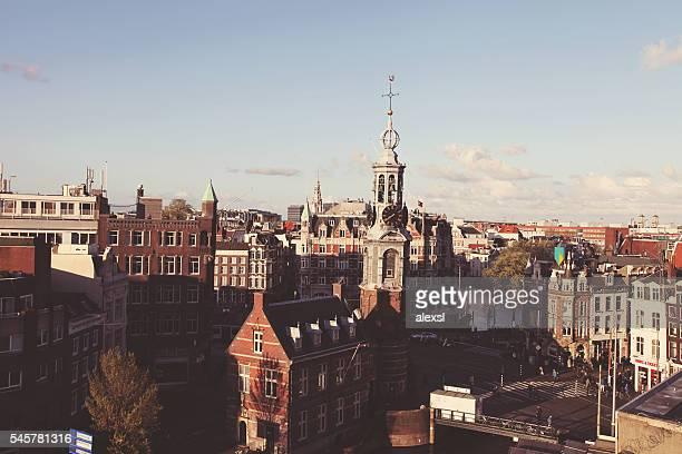 Keizersgracht canal bridges in Amsterdam, Netherlands