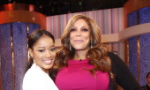 Keke Palmer and Wendy Williams visit 'The Wendy Williams Show' to talk about her new movie 'Joyful Noise' at The Wendy Williams Show Studio on...