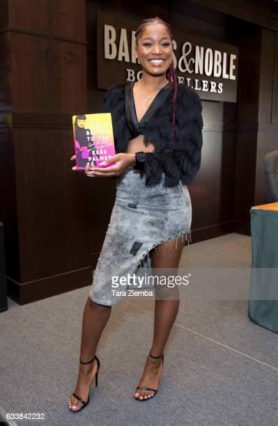 Keke Palmer arrives for the signing of her book 'I Don't Belong To You Quiet The Noise And Find Your Voice' at Barnes Noble at The Grove on February...