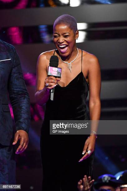 Keke Palmer at the 2017 iHeartRADIO MuchMusic Video Awards at MuchMusic HQ on June 18 2017 in Toronto Canada on June 18 2017 in Toronto Canada