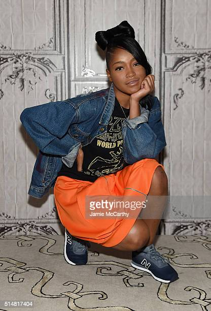 Keke Palmer attends AOL Build Speakers Series at AOL Studios In New York on March 11 2016 in New York City