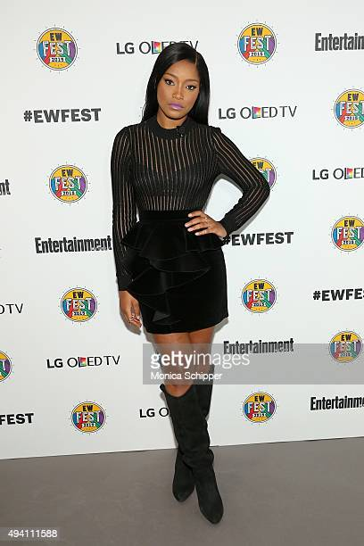 Keke Palmer attends Entertainment Weekly's first ever 'EW Fest' presented by LG OLED TV on October 24 2015 in New York City