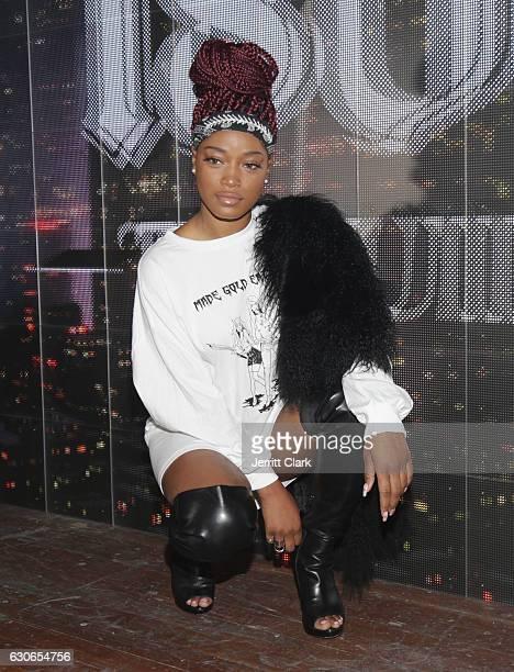 KeKe Palmer attends Slim Jxmmi Of Rae Sremmurd 25th Birthday Bash at Think Tank Gallery on December 28 2016 in Los Angeles California
