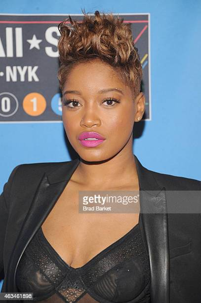 Keke Palmer attends State Farm AllStar Saturday Night NBA AllStar Weekend 2015 at Barclays Center on February 14 2015 in New York New York