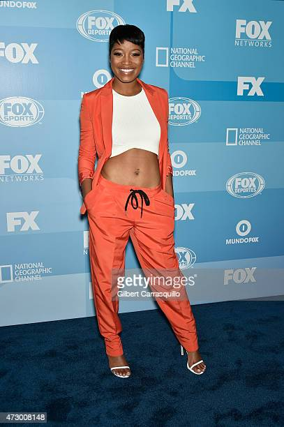 Keke Palmer attends the 2015 FOX Programming Presentation at Wollman Rink Central Park on May 11 2015 in New York City