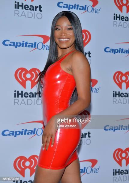 Keke Palmer attends the 2017 iHeartRadio Music Festival at TMobile Arena on September 23 2017 in Las Vegas Nevada