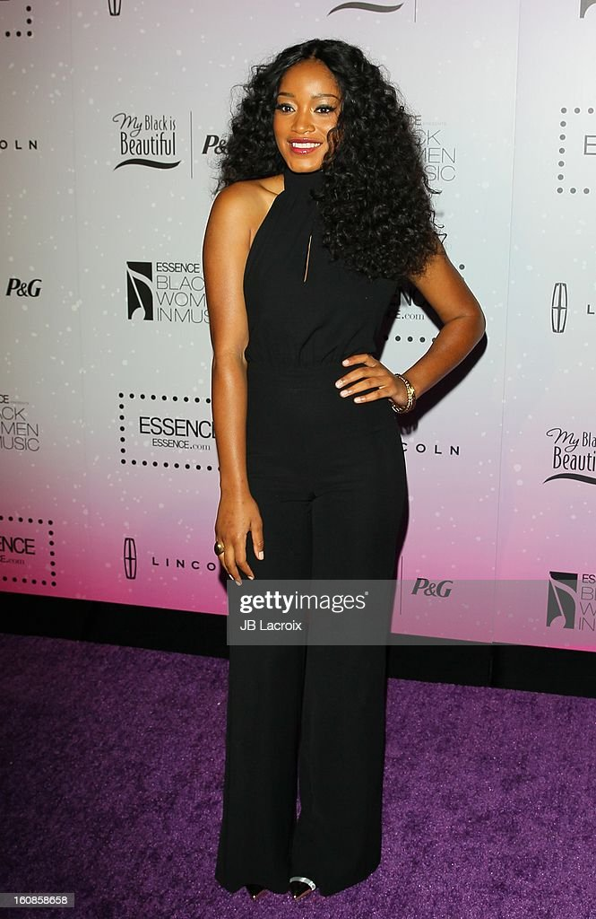 Keke Palmer attends the 4th Annual Essence Black Women In Music Event at Greystone Manor Supperclub on February 6, 2013 in West Hollywood, California.