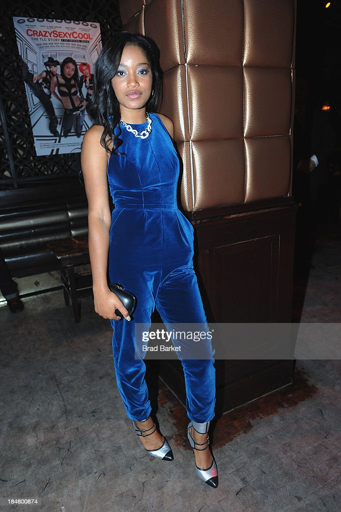 Keke Palmer attends the CrazySexyCool Premiere Event at AMC Loews Lincoln Square 13 theater on October 15, 2013 in New York City.