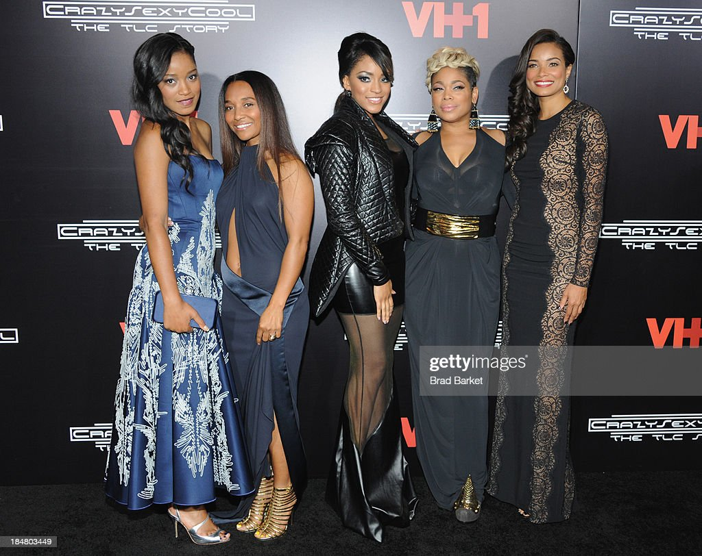 <a gi-track='captionPersonalityLinkClicked' href=/galleries/search?phrase=Keke+Palmer&family=editorial&specificpeople=653121 ng-click='$event.stopPropagation()'>Keke Palmer</a>, Chilli, Drew Sidora, <a gi-track='captionPersonalityLinkClicked' href=/galleries/search?phrase=T-Boz&family=editorial&specificpeople=715877 ng-click='$event.stopPropagation()'>T-Boz</a> and <a gi-track='captionPersonalityLinkClicked' href=/galleries/search?phrase=Rochelle+Aytes&family=editorial&specificpeople=843599 ng-click='$event.stopPropagation()'>Rochelle Aytes</a> attends the CrazySexyCool Premiere Event at AMC Loews Lincoln Square 13 theater on October 15, 2013 in New York City.