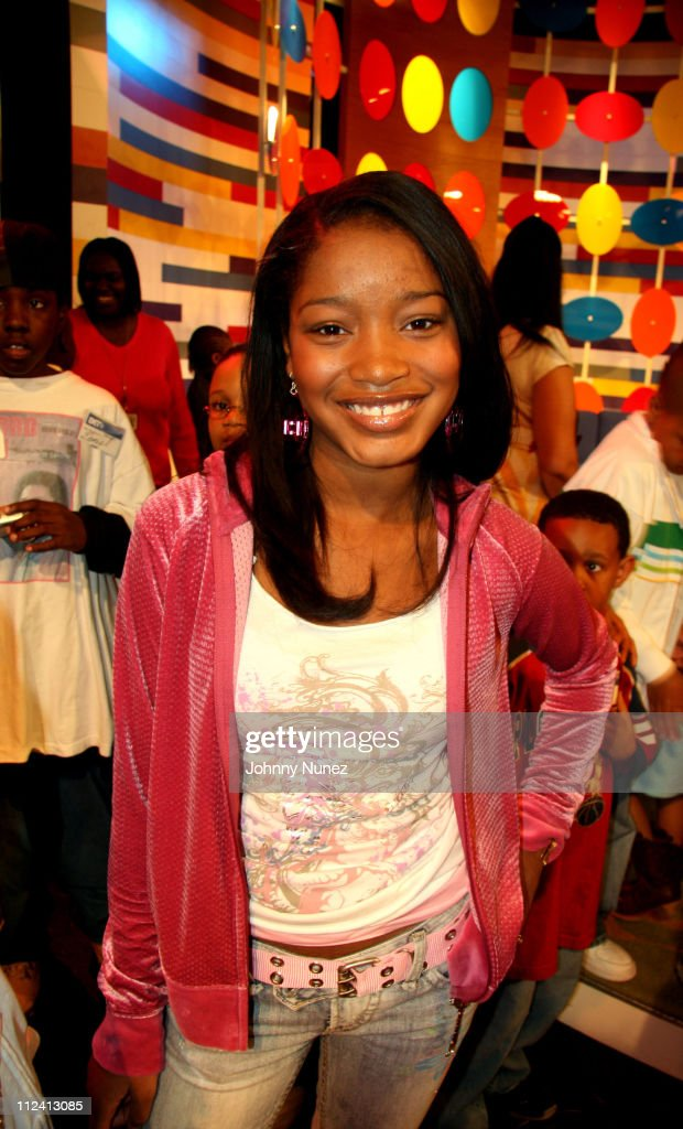 KeKe Palmer during Laurence Fishburne, Angella Bassett and KeKe Palmer Visit 106 and Park - April 27, 2006 at BET Studio's NYC in New York, New York, United States.