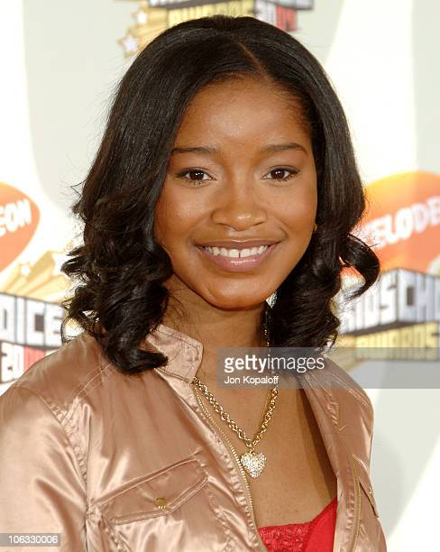 KeKe Palmer during Nickelodeon's 20th Annual Kids' Choice Awards Arrivals at Pauley Pavilion UCLA in Westwood California United States